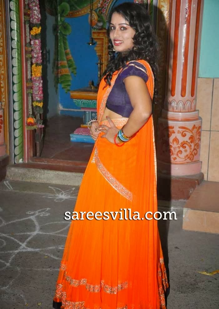 Vyjayanthi In Half Saree