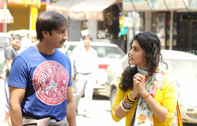 Telugu Stills from 'Sahasam' Movie
