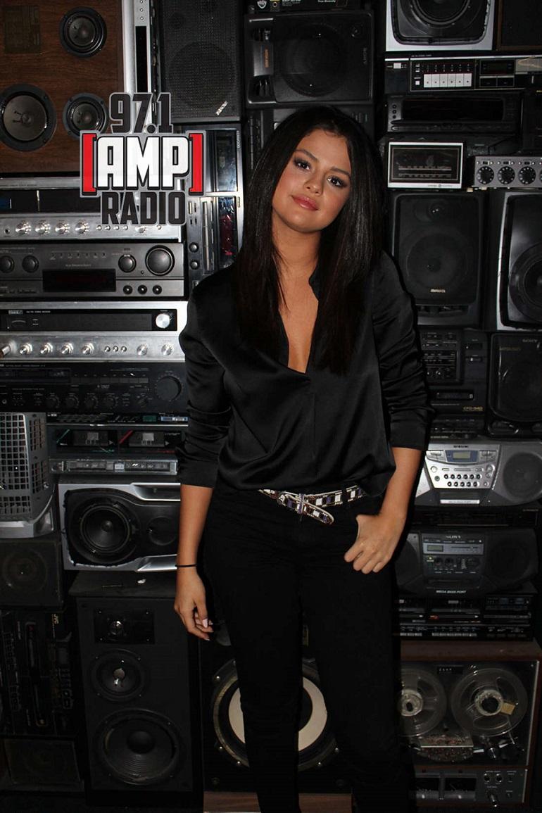 Selena Gomez – 97.1 AMP Radio in NYC