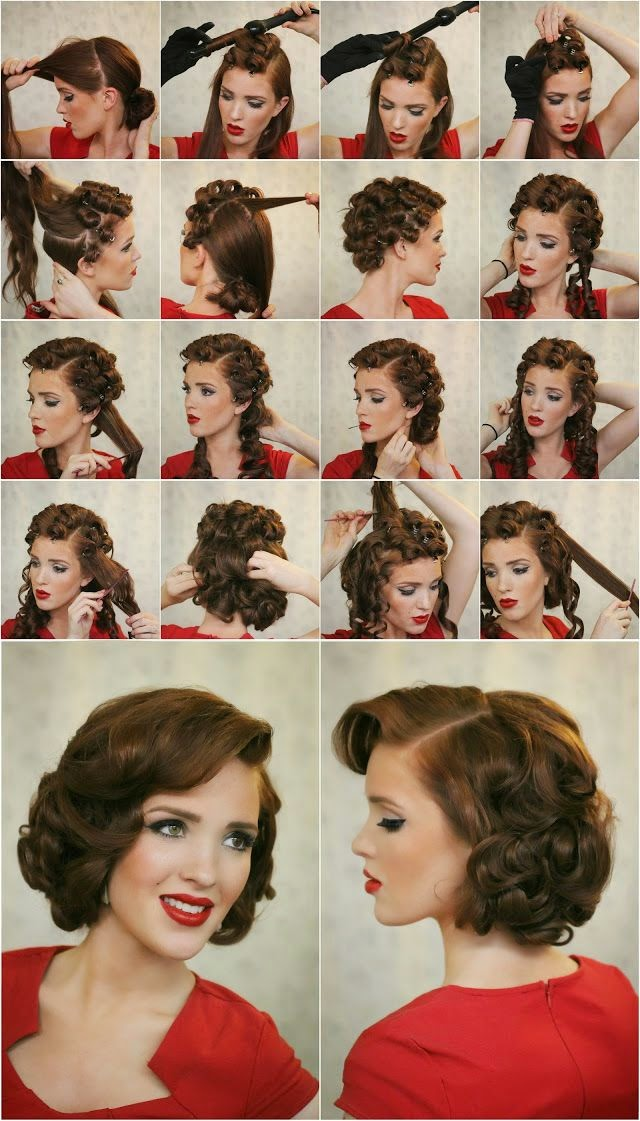 Blog Ucil Abas How To Do Vintage Hairstyles