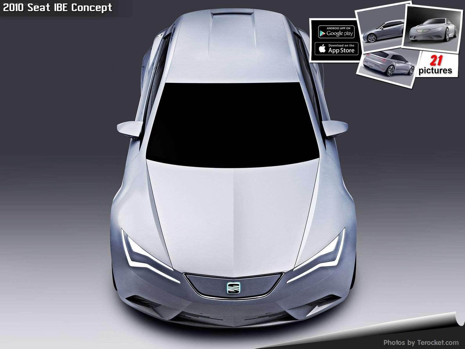 Hình ảnh xe ô tô Seat IBE Concept 2010 & nội ngoại thất
