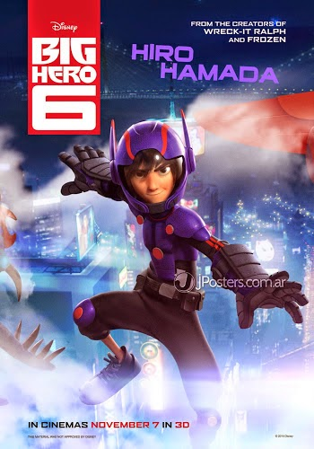 Big Hero 6 2014 720p HDCAM x264 450mb