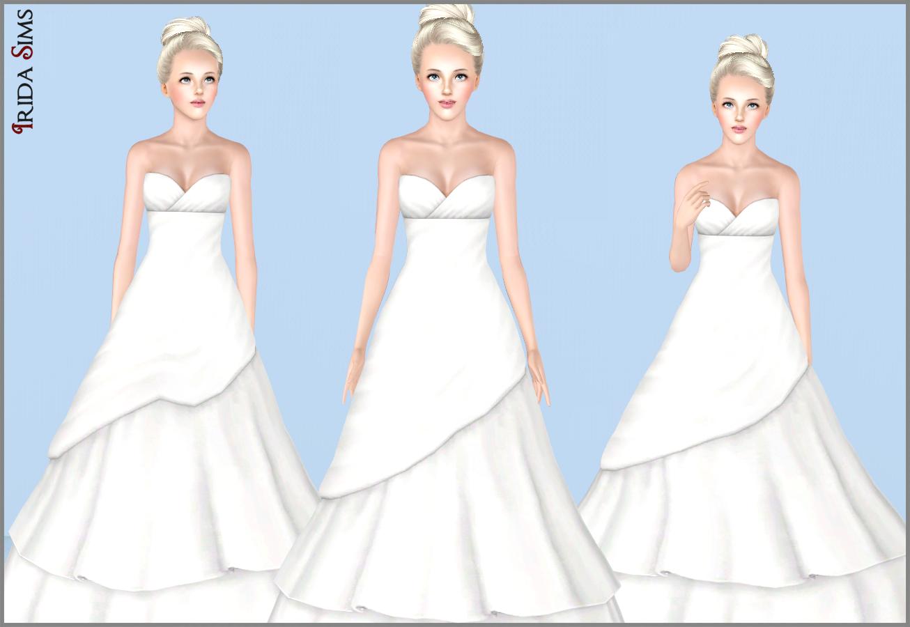 Irida sims wedding dresses