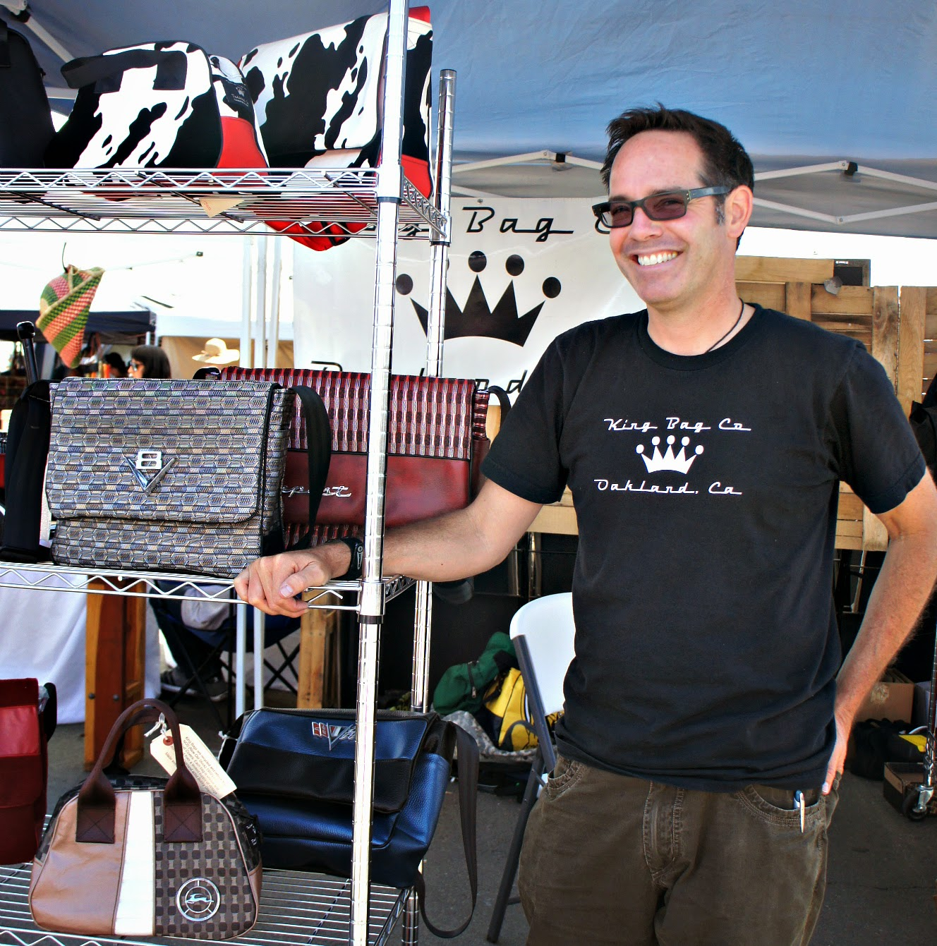 King Bag Company feature & promo at Shop Small Saturday Showcase on Diane's Vintage Zest!