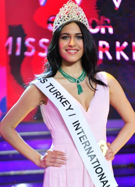 Miss Turkey International 2014 winner Gizem Kocak