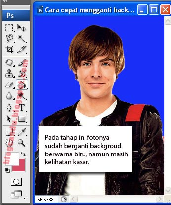 Cara Mengganti Background Foto Photoshop Belajar Photoshop | Berita