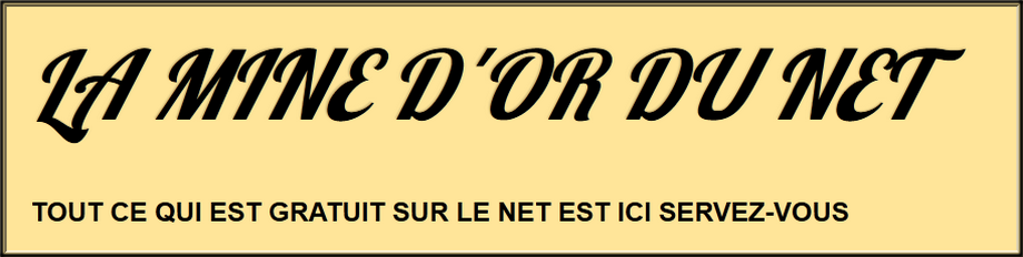 LA MINE D'OR DU NET