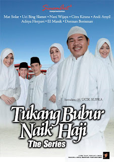 tukang bubur naik haji the series cover
