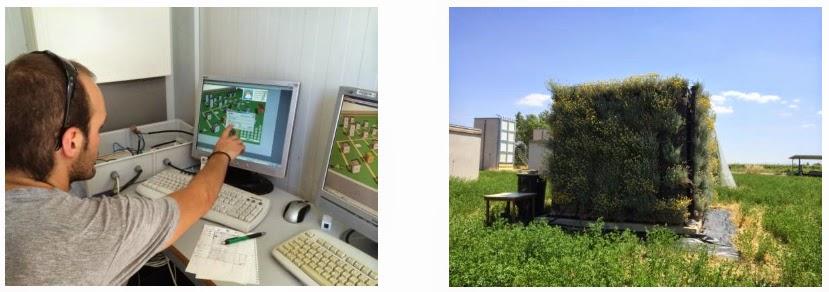 El jard n vertical modular de buresinnova como aislante for Modulo jardin vertical