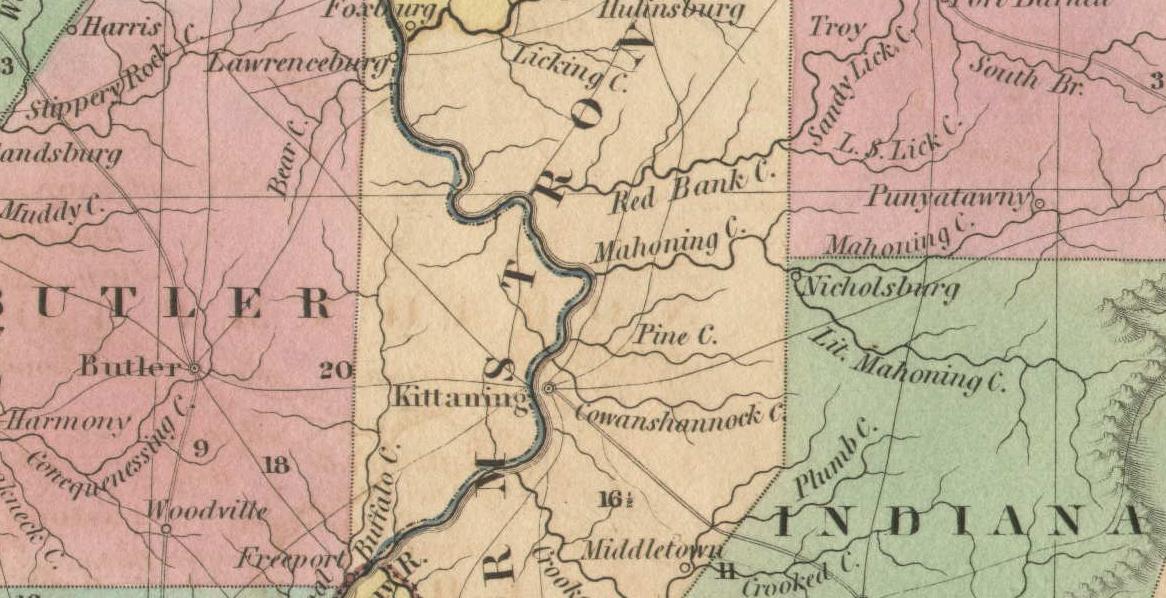 Map of Redbank