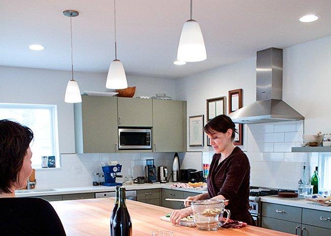 La casa del vecino cocinas - Iluminacion de cocinas ...