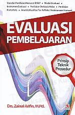 toko buku rahma: buku EVALUASI PEMBELAJARAN  (Prinsip, Teknik, Prosedur), pengarang zainal arifin, penerbit rosda