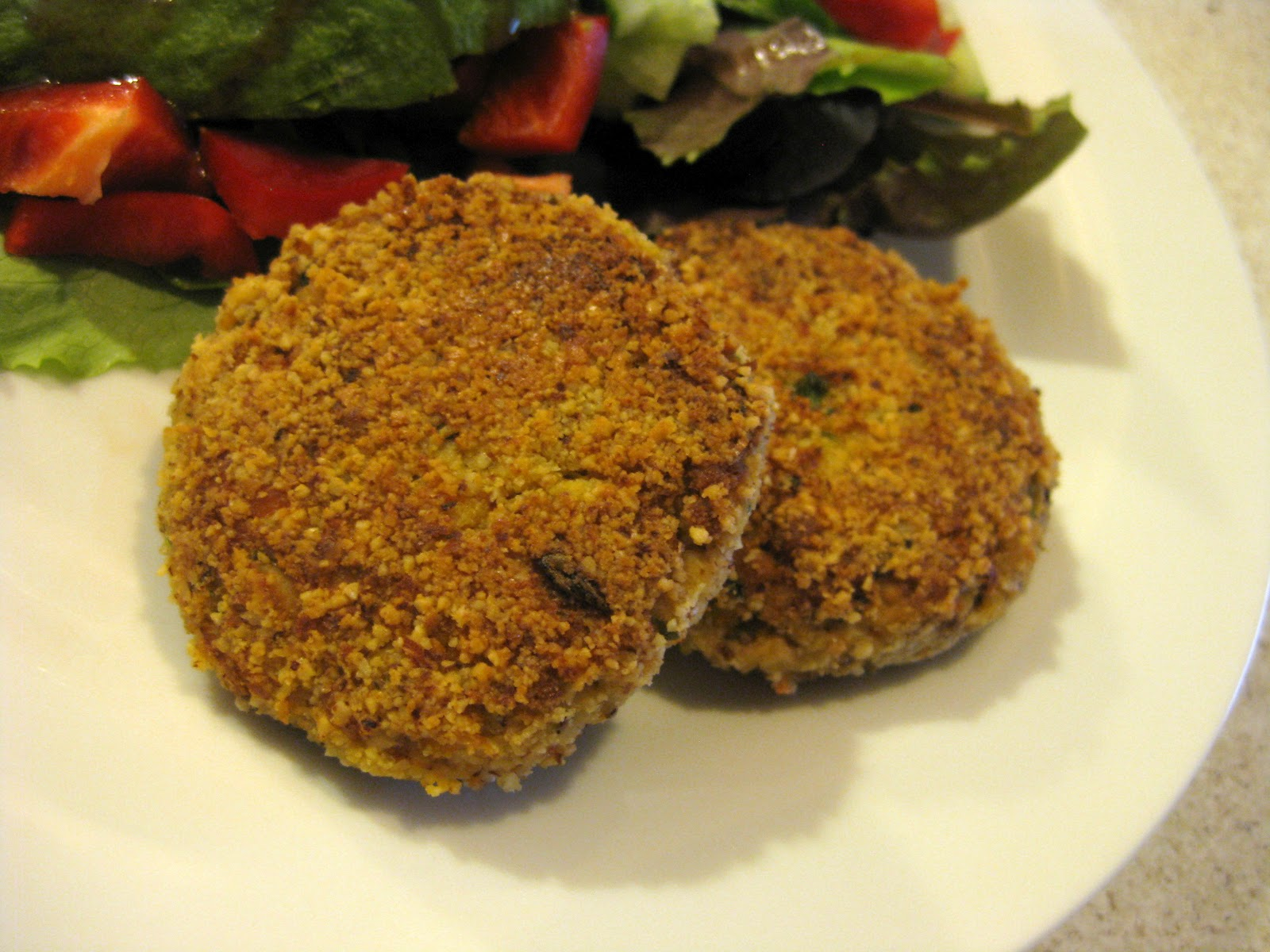 how to make veggie patties stick together