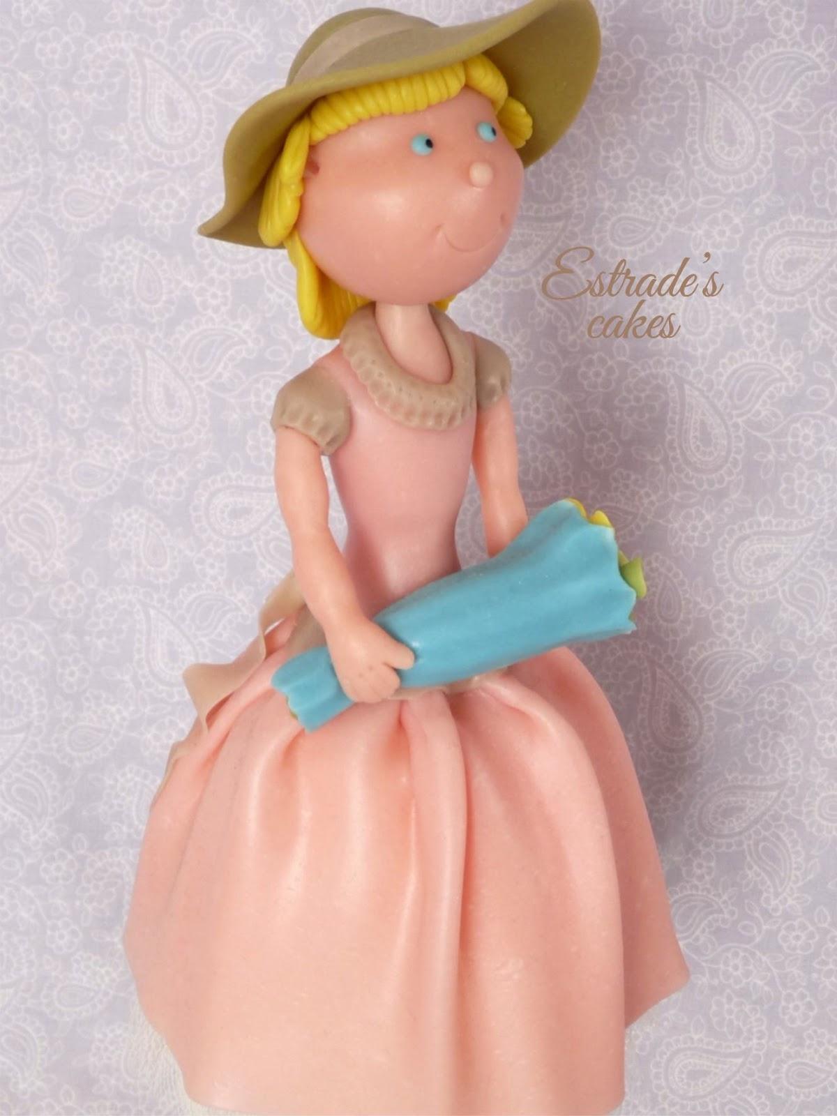 muñeca alta vintage en porcelana fria-5