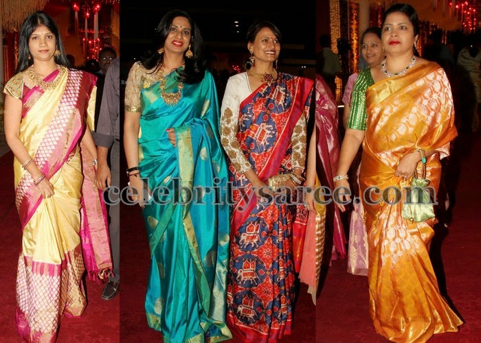 Benaras and Pochampally Silk Sarees