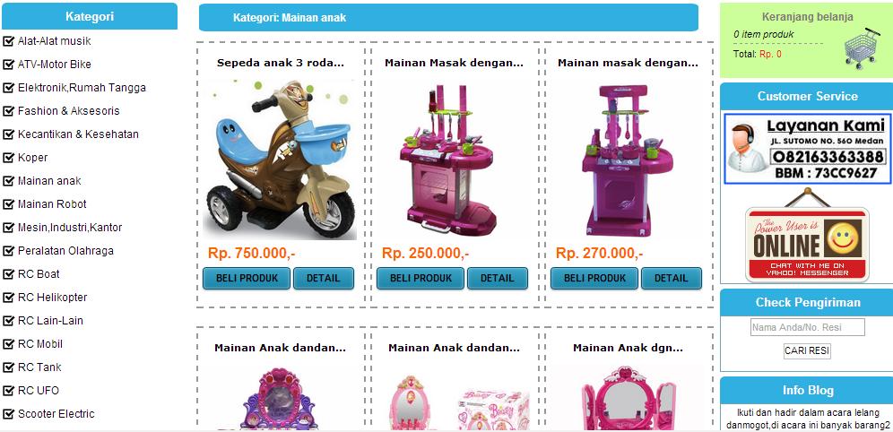 Danmogot.com toko online murah terbaik di Indonesia