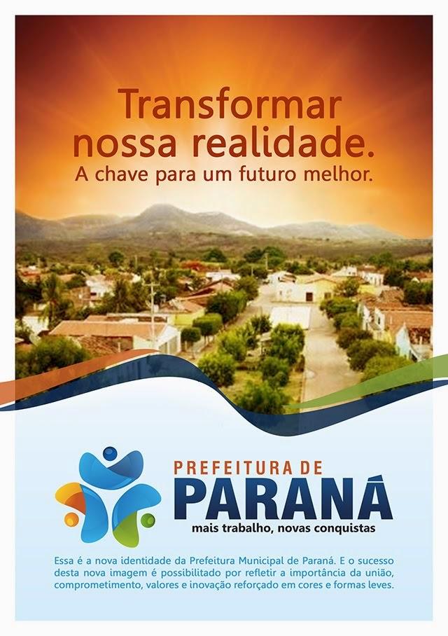 PREFEITURA MUNICIPAL DO PARANÁ-RN