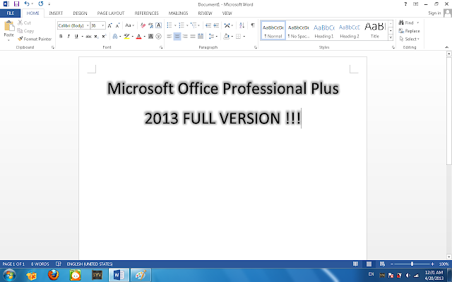 To create better search results for Microsoft Word 2010 avoid using keyword