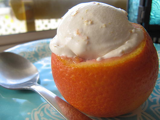 Home Skillet - Cooking Blog: Blood Orange Creamsicle Ice Cream
