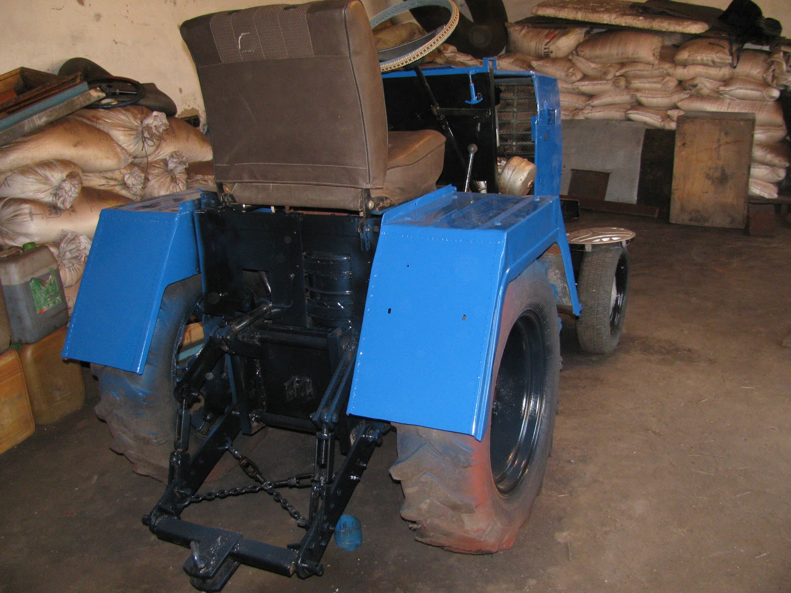 Самодельные трактора - Самоделки своими руками 32