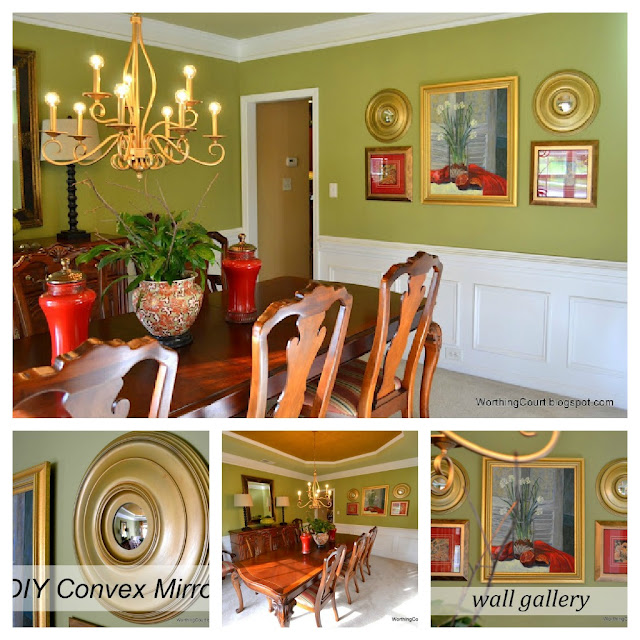 PicMonkey+Collage-dining+room Traditional style home tour in Central NC!