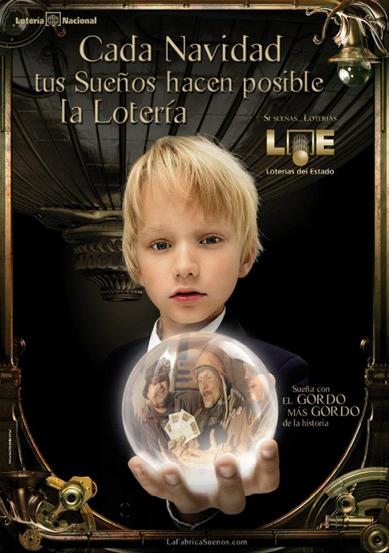 anuncio Lotería de Navidad 2011