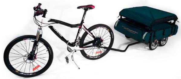 Remolque/carpa para llevar con la Bicicleta Remolquetienda1
