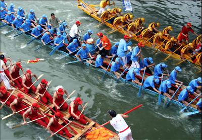 Dragon Boat Holiday activity