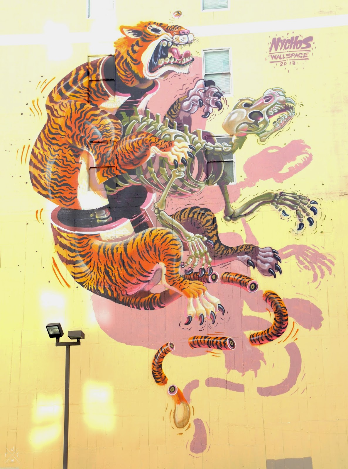 Eye of the Tiger, by Nychos - 2013