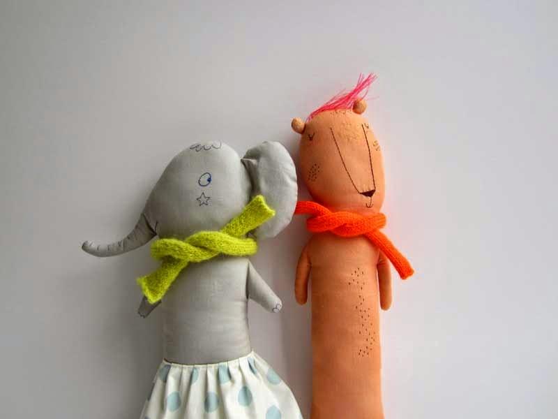 selección de juguetes de diseño