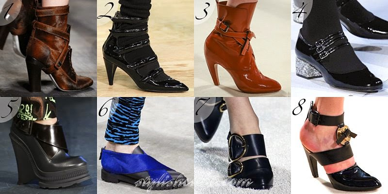 Fall 2014 Women's Footwear Fashion Trends
