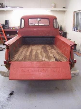 1949 Chevy truck original bed boards