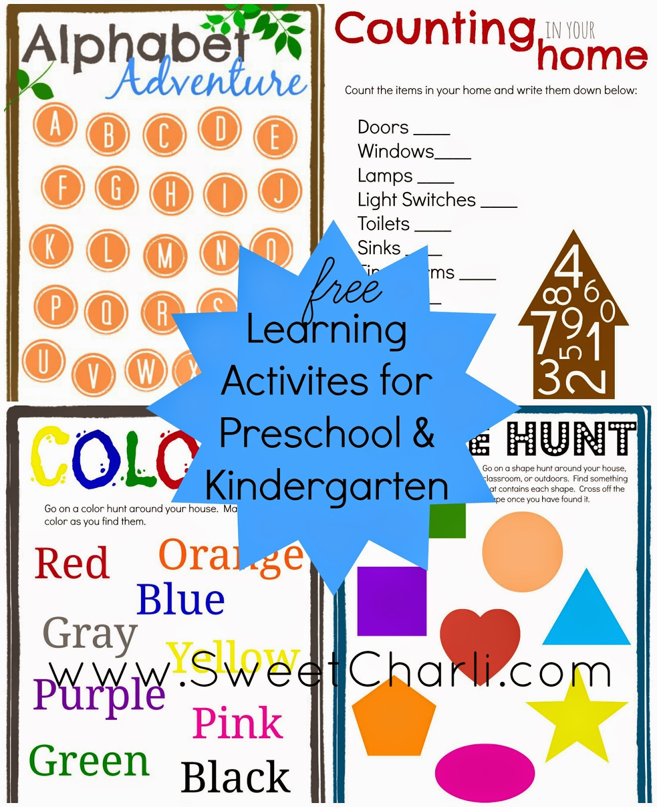 Preschool Kindergarten Learning Games And Printables