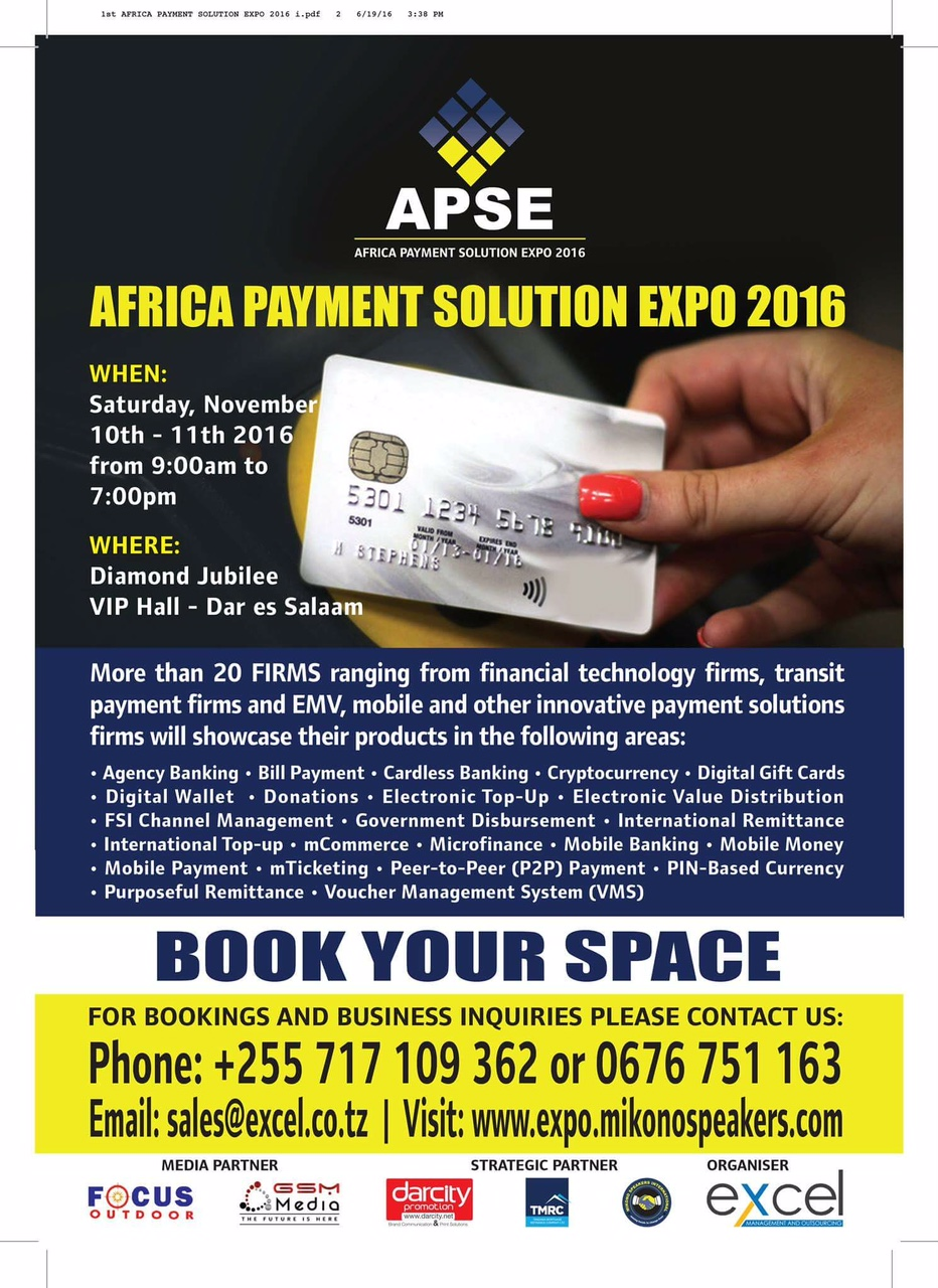 PAYMENT SOLUTION EXPO 2016