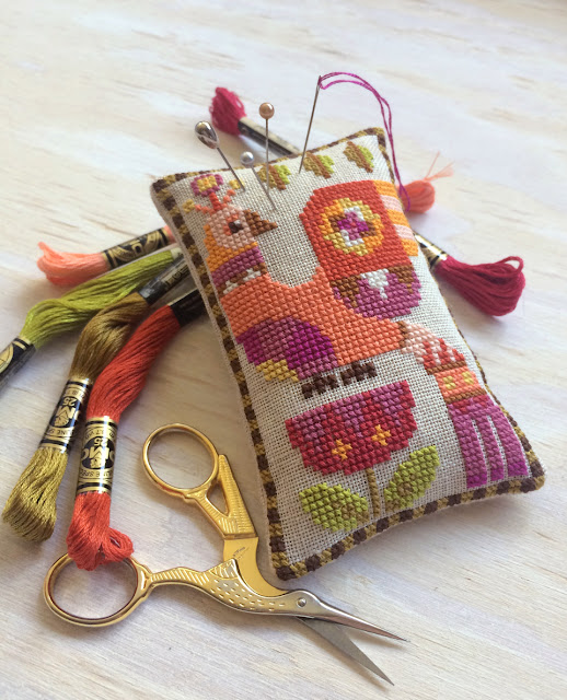 satsuma_street_cross_stitch_modern_bird_pincushion