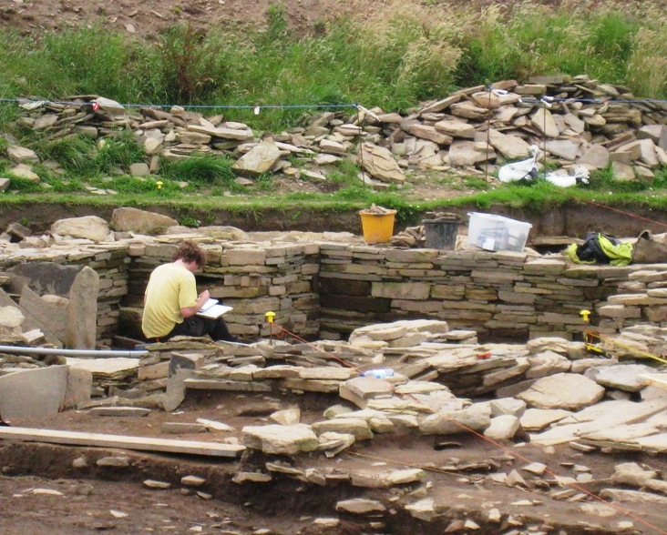Life On A Small Island Ness Of Brodgar Archaeological Dig