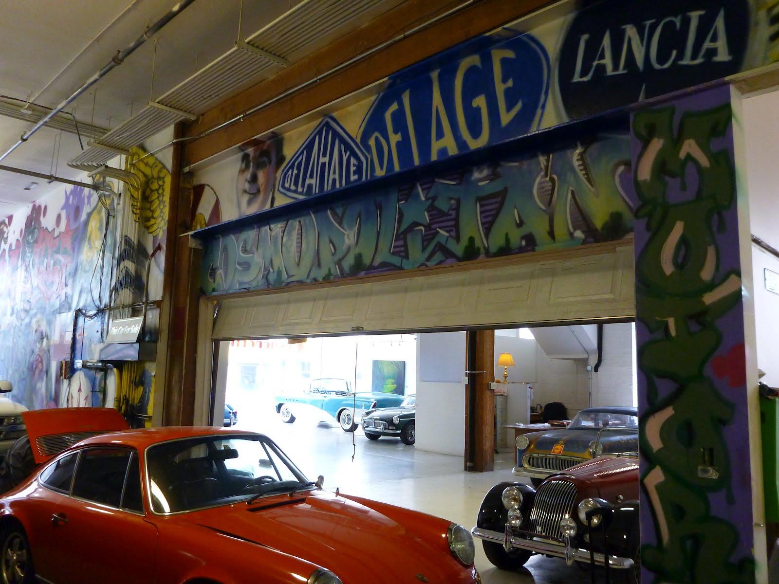 Travelmarx Cosmopolitan Motors Mural