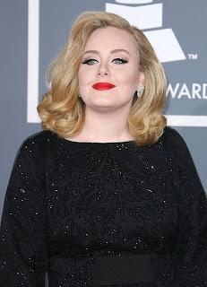 2012 Adele Blonde Hairstyles