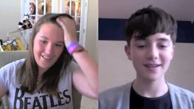Everloop winner Ally Skyping with Greyson Chance Skype Video