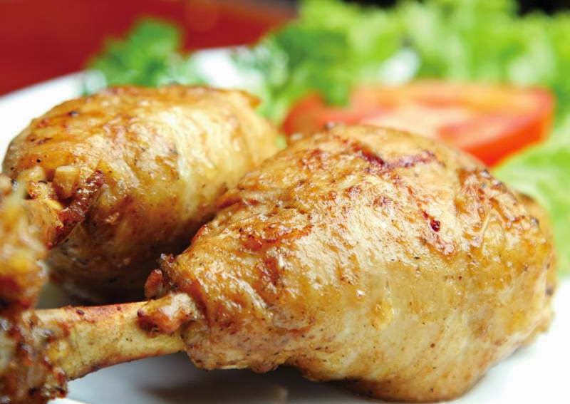 Vietnamese Food - Cơm Gà Nướng Mật Ong