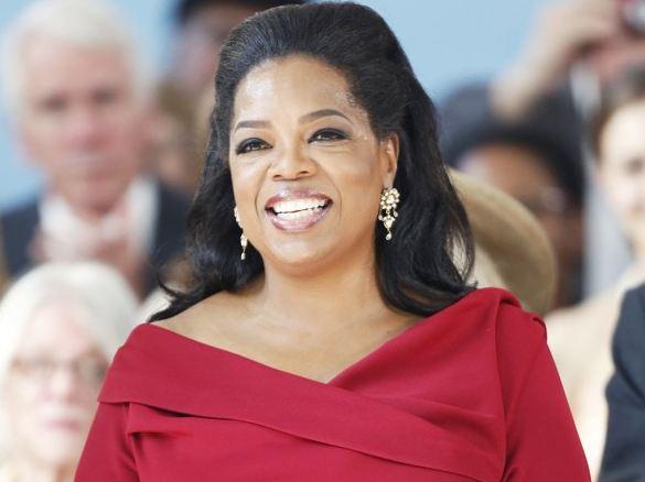 Television talk show celebrity Oprah Winfrey