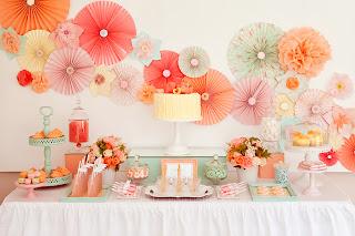 enfeite para a mesa dos convidados decoração do salão parede do bolo faça você mesmo passo a passo