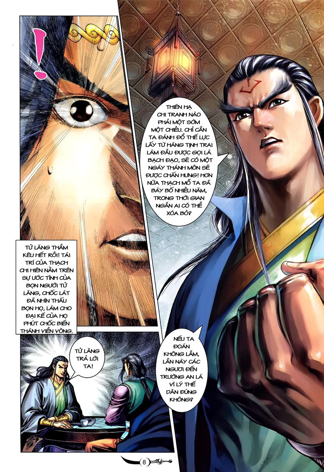 Đại Đường Song Long Truyện chap 216 - Trang 10
