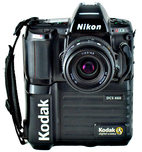 The Kodak Professional DCS 460 Digital Camera was introduced in 1995.