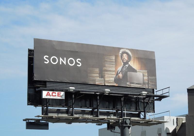 Sonos billboard