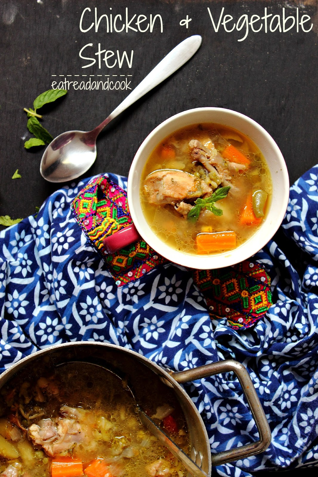 Chicken and Vegetable Stew | Eat Read & Cook