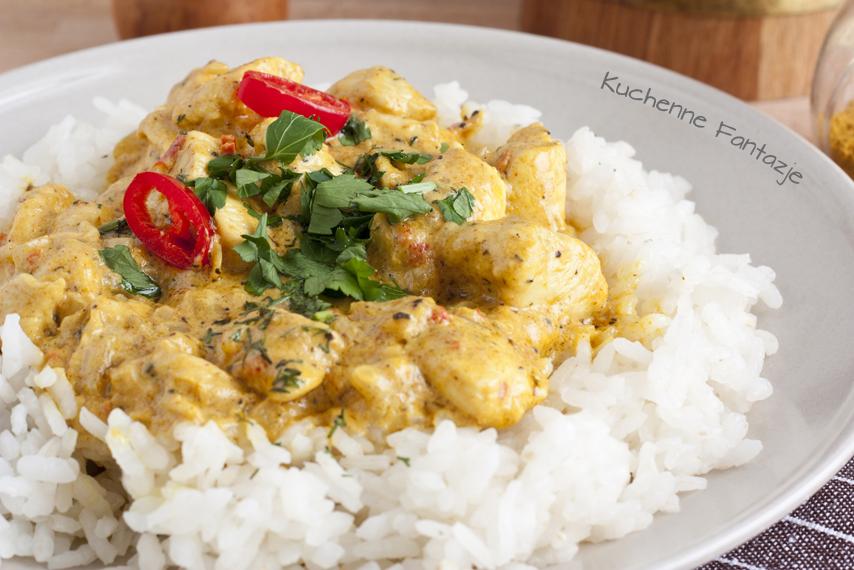 Kuchenne Fantazje: Kurczak curry