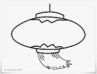 Mewarnai Gambar Lampu Lampion