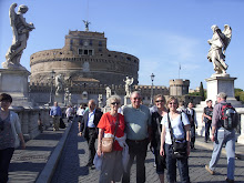 Mom, Dad, Cindy, Theresa in Italy
