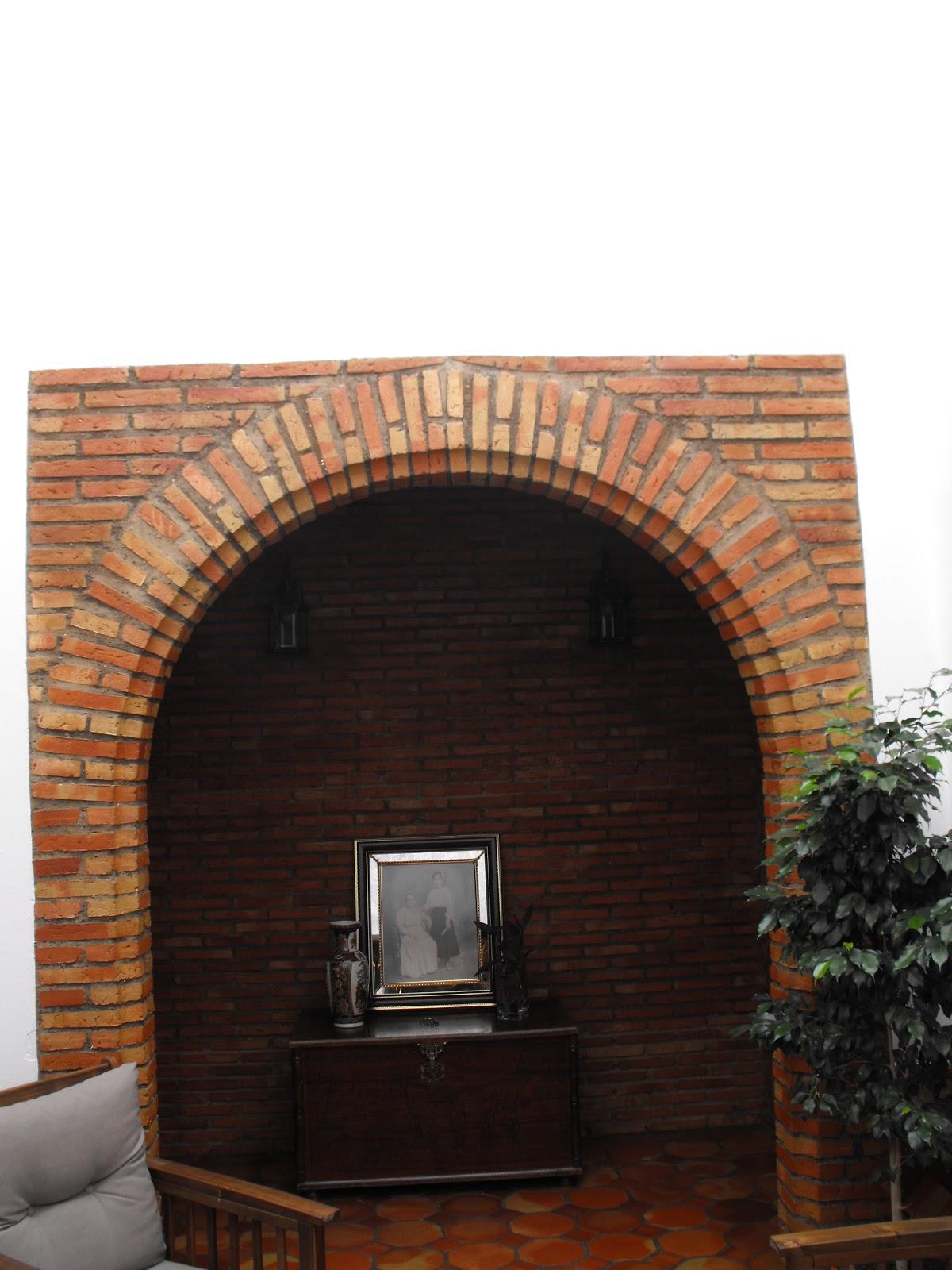 Suelos de barro arco de ladrillo for Arcos de ladrillo rustico
